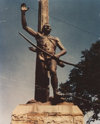 Chief Montour Monument, Painted Post N.Y.