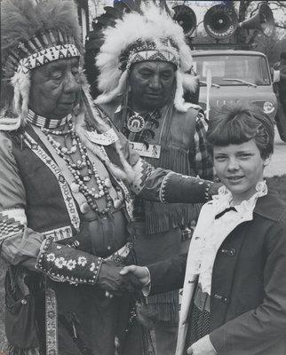 George Buck and Jake Skye