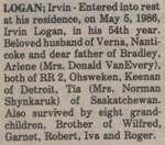 Logan, Irvin