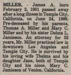 Miller, James A.