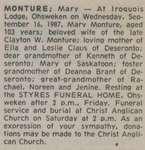 Monture, Mary
