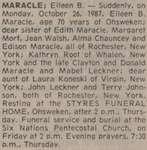 Maracle, Eileen B.