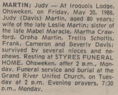 Martin, Judy