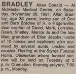 Bradley, Allan Donald