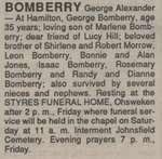 Bomberry, George Alexander