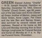 Green, Elwood Aubrey (Charlie)