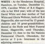 White, Caroline
