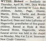 Wythe, Richard