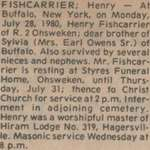 Fishcarrier, Henry