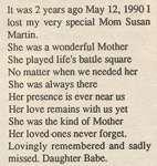 Martin, Susan