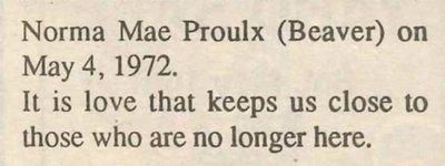 Proulx, Norma Mae