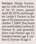 Farmer, Leslee J.