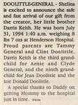 Doolittle-General, Darris Keith