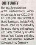 Barnes, John Abraham