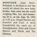 Montour, Alan Neil