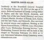 Martin, David Allan
