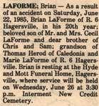 LaForme, Brian