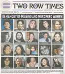 """In Memory of Missing and Murdered Women"""