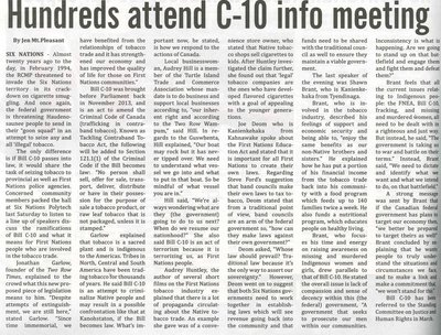 """""""Hundreds Attend C-10 Info Meeting"""""""