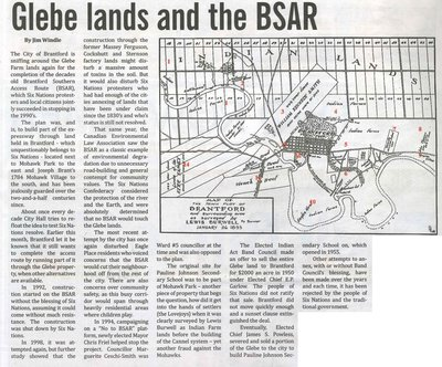 """""""Glebe Lands and the BSAR"""""""