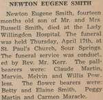 Smith, Newton Eugene