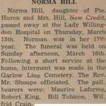 Hill, Norma