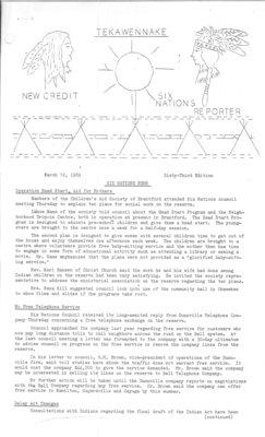Tekawennake News - March 12, 1969