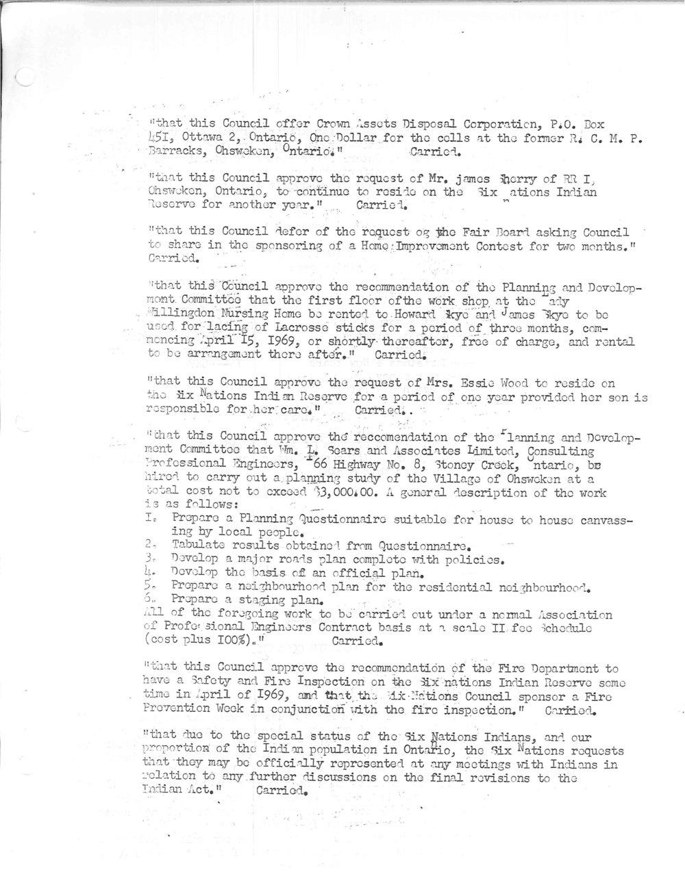 The Moccasin News - Vol.II No.I - February 15, 1969