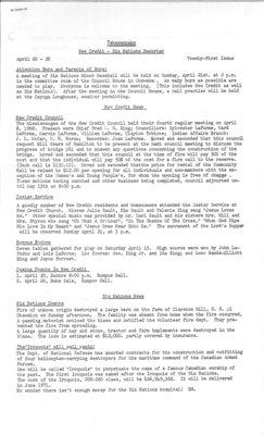 Tekawennake News - April 27, 1968