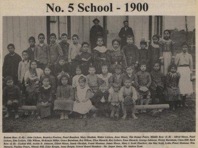 """""""No. 5 School - 1900"""""""