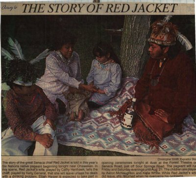 """The Story of Red Jacket"""