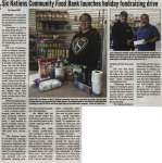 """""""Six Nations Community Food Bank launches holiday fundraising drive"""""""