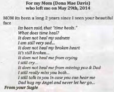 Davis, Dona Mae