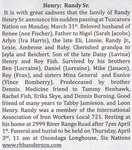 Henry, Randy Sr.
