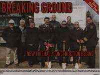 """Breaking Ground: New Firehall construction begins"""