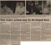 """New water system may be developed here"""