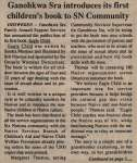 """""""Ganohkwa Sra introduces its first children's book to SN Community"""""""