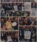 """Idle No More Flash Mob hits Brantford Mall and regroups at Hamilton mall Christmas Eve"""