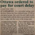 """Ottawa ordered to pay for court delay"""