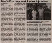 """Men's Fire may seek Lystek injunction"""