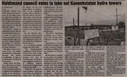 """Haldimand council votes to take out Kanonhstaton hydro towers"""