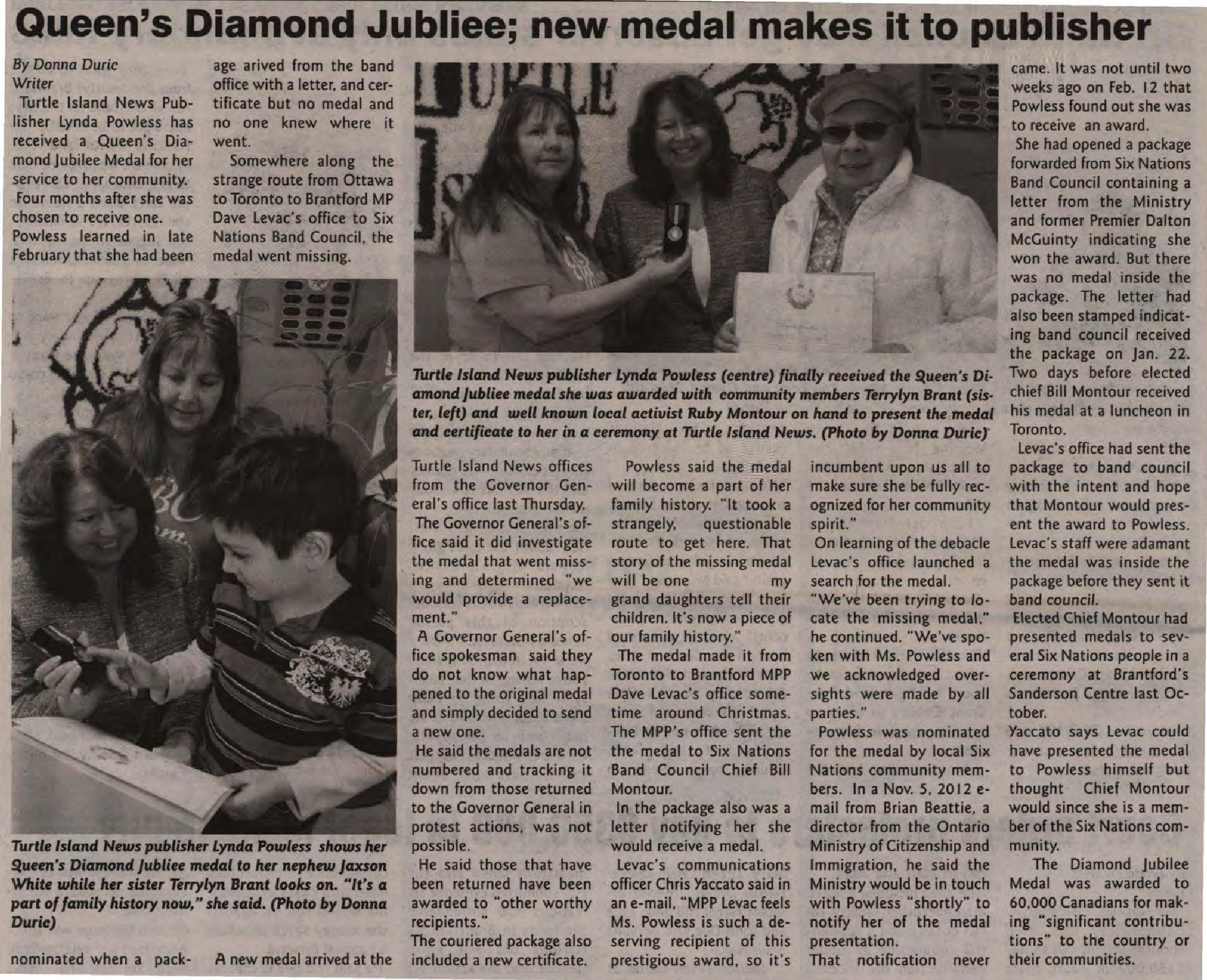 queen s diamond jubilee new medal makes it to publisher six