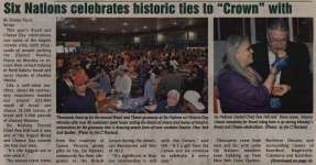 """Six Nations Celebrates Historic Ties to ""Crown"" with Victoria Day Bread and Cheese Celebration"""