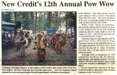 """New Credit's 12th Annual Pow Wow"""