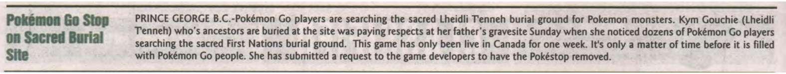 """""""Pokémon Go Stop on Sacred Burial Site"""""""