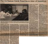 """The 14 Nation Circle Fund faces time of transition"""