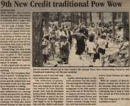 """9th New Credit traditional Pow Wow"""