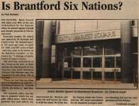 """Is Brantford Six Nations?"""
