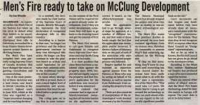 """Men's Fire ready to take on McClung Development"""