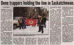 """Dene trappers holding the line in Saskatchewan"""